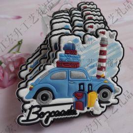 厂家定制磁性冰箱贴创意磁贴装饰贴留言贴便签贴卡通软磁贴外贸