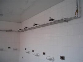 感应式单温暗装淋浴器(TJL-6)