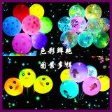 LED发光气球告白气球灯广告促销七彩闪光气球夜市夜光荧光气球
