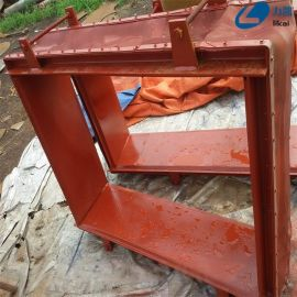 焊接式煙道非金屬膨脹節質量保證矩形非金屬補償器