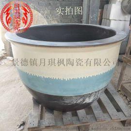景德鎮廠家直銷陶瓷泡澡缸洗浴大缸溫泉專用陶瓷缸