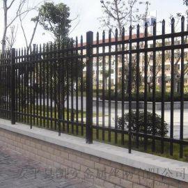 锌钢栅栏 公路围栏 护栏网围墙 工厂围墙网