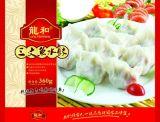 青島龍和三文魚速凍海鮮水餃
