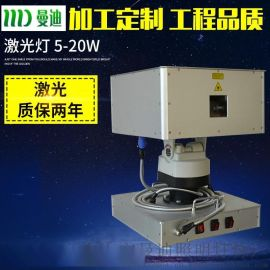 大功率地标激光 10W 单绿激光灯 户外大功率激光