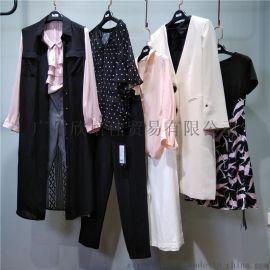 18年杭州年轻时尚品牌【溆】春夏装品牌折扣女装连衣裙知恩