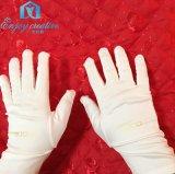 享创意超细纤维不掉屑白色直筒单筋净化无尘布手套珠宝手套