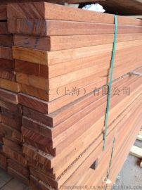 非洲鳳梨格木方  廠家定做非洲鳳梨格木材