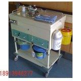 昂派UP-10075多功能治疗车 不锈钢移动护理车工作站 带桶
