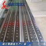 厂家直销钢跳板 防腐防滑钢踏板 冲孔钢跳板3米1.2mm厚