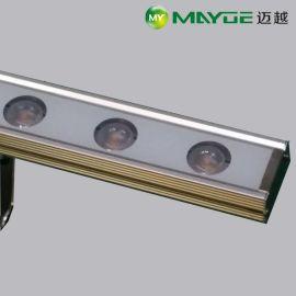中山迈越照明工厂直销LED洗墙灯 线条灯 线型灯 用于户外景观照明工程