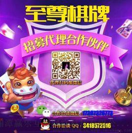 至尊棋牌加强版—为湖南朋友量身定做的专业网络游戏招商加盟