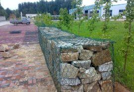 廠家直堤坡水利銷鍍鋅格賓網雷諾護墊石籠網箱卷石龍框