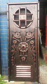 铁艺大门价格 订做铁门厂家 咖啡厅铁门