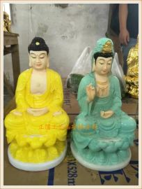 正圓供應寺廟千佛萬佛玻璃鋼小佛像,仿琉璃小佛像廠家