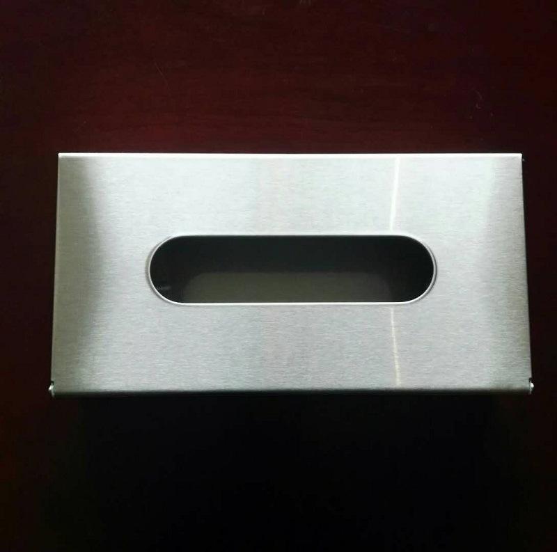 餐桌上用小抽纸巾盒304不锈钢厂家包邮