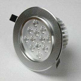12W沙銀LED天花射燈