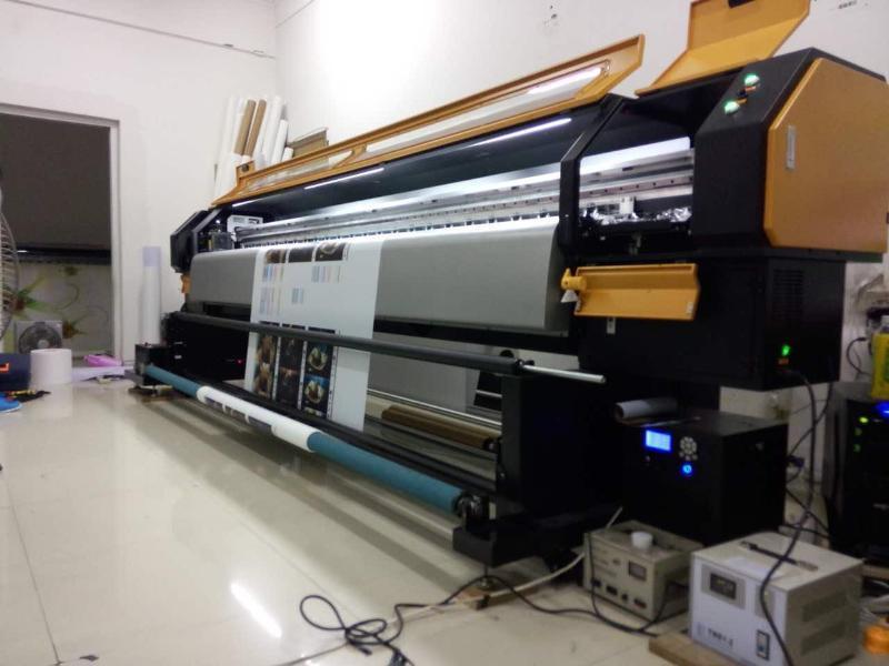 2米无缝拼接uv软膜,墙纸壁纸墙布高清写真机,喷绘打印机