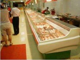 上海航辛大量厂家直销鲜肉柜冷藏柜