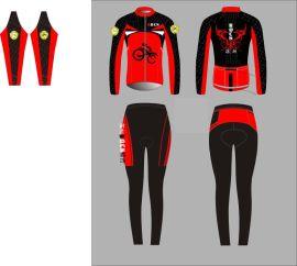 工厂骑行服定制户外骑行用品 短袖套装长袖套装