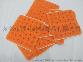 维叶硅胶防震软垫
