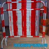 双冠电气供应组合式铁质安全围栏厂家铁马护栏安全围栏