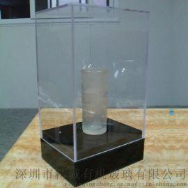 亚克力组装盒 机玻璃透明罩 亚克力展示礼品盒