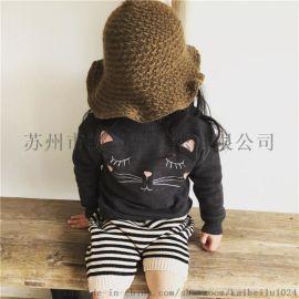 凯贝鹿针织 苏州儿童毛衣厂家 ins爆款 毛衣