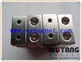 厂家定制 钕铁硼强磁磁铁 沉孔强力磁铁 圆形打孔强磁磁铁 包邮