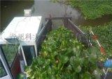 广东河道生态水葫芦打捞船 机器化水生草打捞割草船
