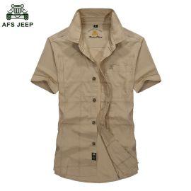古森豹 男士职业装 男士短袖衬衫 河北男装 北京服装批发