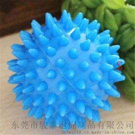 圆形榴莲球 PVC刺猬球