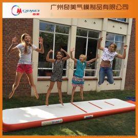 厂家直销体操垫充气密气跆拳道气垫防护垫拉丝材料 支持订做混批