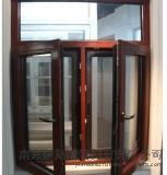 高檔 鋁木金剛一體窗