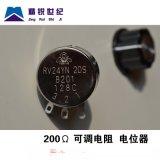 精锐世纪RV24YN20S B201 200R 可调电阻 单圈碳膜电位器 进口膜片