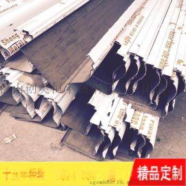 不锈钢天花收口条 刨坑不锈钢墙角收口条