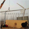 厂家供应足功率三相交流永磁5KW风力发电机 小型户外风力发电机特价