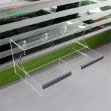 鹦鹉喂食器订制厂家 亚克力八哥喂食盒 有机玻璃透明宠物喂食器 亚克力鸟槽