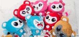 义乌毛绒玩具 浙江毛绒玩具熊 公仔批发加工工厂 毛绒玩具生产厂家