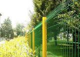 公园防护围栏网、桃型柱护栏网