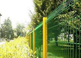 公園防護圍欄網、桃型柱護欄網