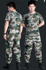 【厂家直销】迷彩圆领衫,军训服