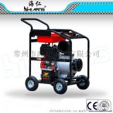 DP60E 6寸柴油水泵,柴油水泵配198F动力,23L大油箱柴油水泵