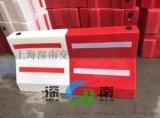 供应上海塑料隔离墩市政塑料护栏 塑料水马厂家直销