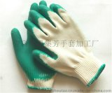 结实耐用线挂胶手套JS-2型纯进口天然胶和优质线手套