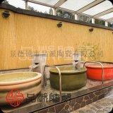 找廠家定做冬天溫泉泡澡缸 會所專用洗澡大缸