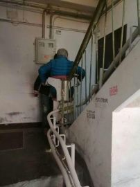 启运QYXJZ老年人座椅电梯 楼道电梯斜挂升降机