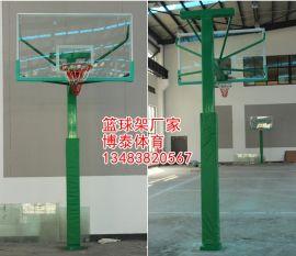 合肥电动液压篮球架厂家 篮球架场地施工