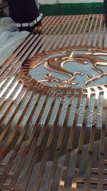 安徽镂空屏风 铝板雕刻屏风隔断订购厂家