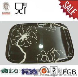 [宏冠批發]高檔A5密胺仿瓷食具|快餐盤|歐式託盤|長方託盤