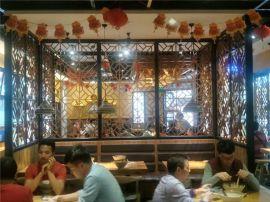 重庆火锅店门窗铝窗花  门窗铝窗花厂家供应